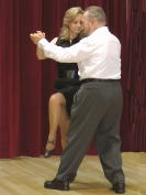 Students Dancing Argentine Tango